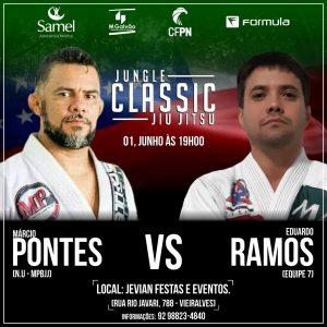Jungle Classic: Eduardo Ramos fala da Expectativa para enfrentar Marcio Pontes