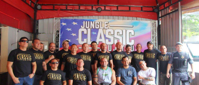 Em clima de descontração, lutadores fazem encarada para o Jungle Classic Jiu-Jitsu