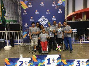 Halterofilistas paralímpicos conquistam três ouros e dois bronzes em competição nacional