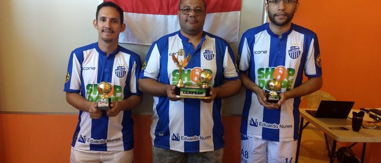 Federação de Futebol de Mesa realiza 1° Turno do Campeonato Amazonense na modalidade Dadinho