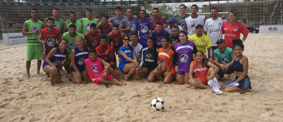 Finais da Supercopa de Futevôlei serão decididas nesta sexta-feira (07/06), no Centro Cultural Povos da Amazônia