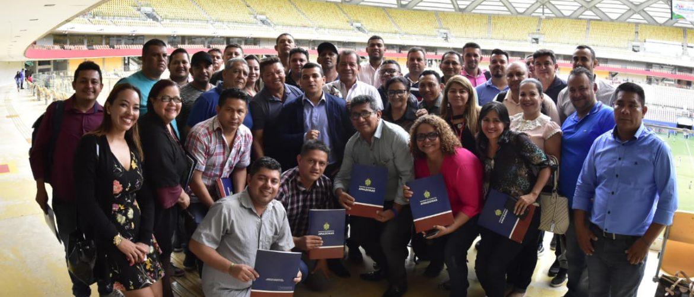 Sejel realiza 1º Encontro Estadual de Gestores de Política Pública de Juventude, Esporte e Lazer na Arena da Amazônia