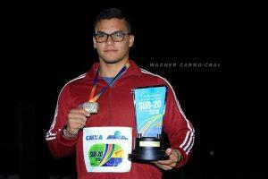 Amazonense é eleito o melhor atleta do Campeonato Brasileiro Caixa de Atletismo Sub-20, em São Paulo