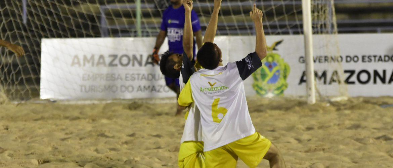 'Desafio dos Campeões' de Beach Soccer terá a participação de Botafogo e Vasco neste fim de semana, na Arena dos Povos da Amazônia
