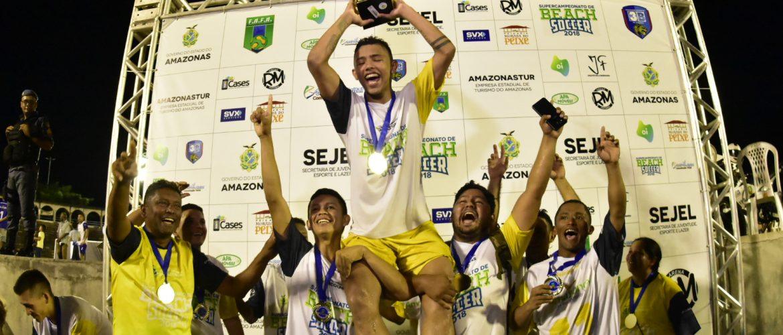 Com vitória por 6 a 4, Papão leva o título de campeão da primeira edição do Supercampeonato de Beach Soccer