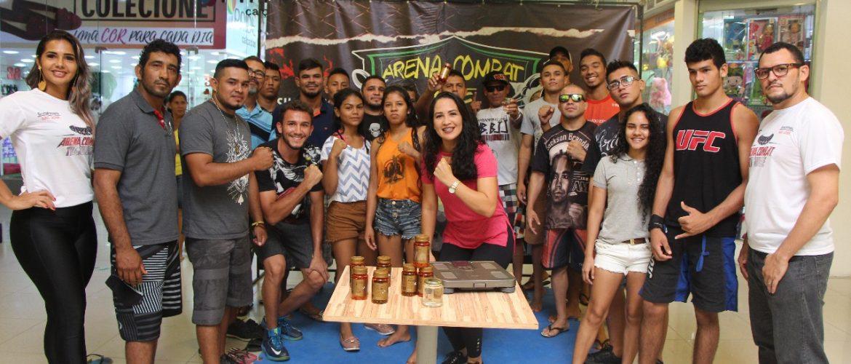 Shopping São José recebe Pesagem Oficial do Arena Combat The Jungle