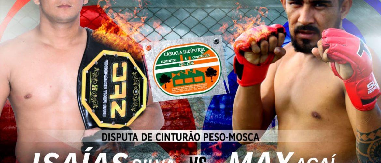 Isaías Pará e Max Açaí duelam pelo cinturão dos Moscas no SFC 4