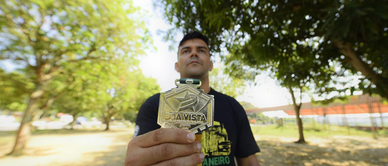Paratleta de Jiu-Jitsu amazonense conquista ouro em BJJ Internacional PRO, em Roraima