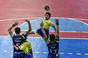 Primeiro dia de competições do JEJ's tem vitórias do Amazonas com as equipes masculinas de handebol e futsal