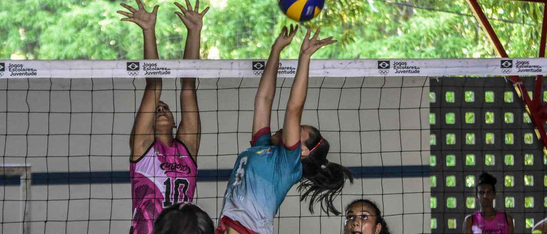 Começou a Etapa Regional 2 dos Jogos Escolares da Juventude, em Manaus