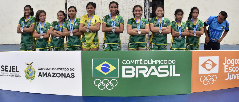 Com dois ouros e três pratas no Regional 2, Amazonas segue com nove representantes para a etapa nacional dos Jogos Escolares da Juventude