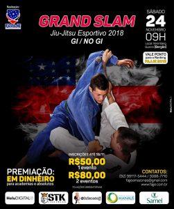 FAJJE divulga cronograma para o Grand Slam de Jiu-Jitsu Esportivo