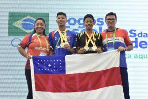Dia de Ouro para o Amazonas nos Jogos Escolares da Juventude