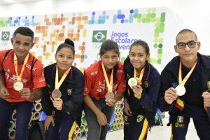 Luta olímpica mantém o brilho do Amazonas no JEJ e conquista mais três ouros e dois bronzes