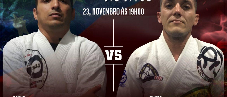 Júnior Gusmão escalado para enfrentar Bruno Cunha no Jungle Classic Jiu-Jítsu