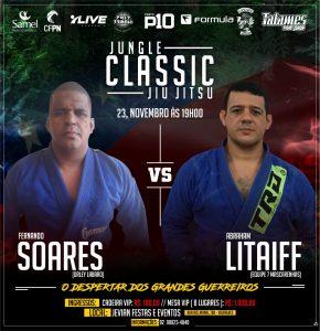 Jungle Classic Jiu-Jítsu: Em ritmo de competição, Abraham Litaiff quer conquistar vitória sobre o casca grossa, Fernando Soares