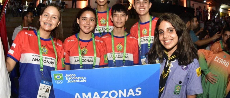 Amazonas conquista três medalhas no primeiro dia de competições do JEJ