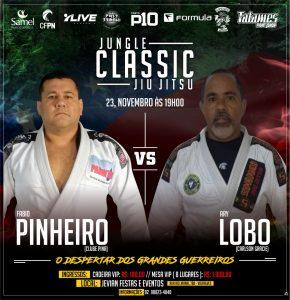 Há 15 anos morando no Ceará, Ary Lobo retorna a Manaus para enfrentar Fábio Pinheiro no Jungle Classic Jiu-Jitsu