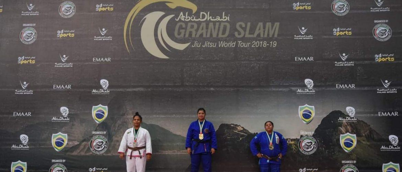 Juliana Gonçalves comenta vitória no Abu Dhabi Grand Slam de Jiu-Jitsu