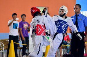 Magdalena Arce Daou terá três competições de artes marciais nesse sábado (03/11)