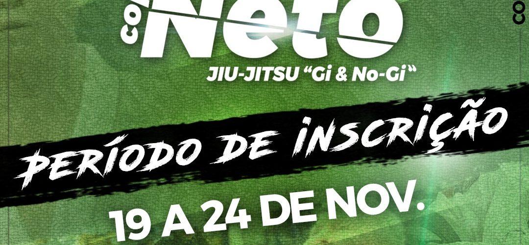 """FJJAM está com inscrições abertas para a Copa Arthur Neto de Jiu-Jitsu """"Gi & No-Gi"""""""
