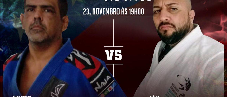 """""""Vou fazer de tudo para vencer"""", declara Hélio Rezende sobre luta contra Waldenes Massulo, no Jungle Classic Jiu-Jítsu"""