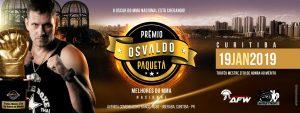 Amazonenses concorrem ao Oscar do MMA nacional na 8ª edição do prêmio Osvaldo Paquetá