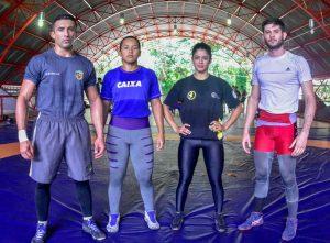 Atletas do Amazonas participam de seletiva nacional de luta olímpica