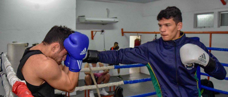 Atleta do Ctara garante vaga para disputar o Mundial Militar de Boxe