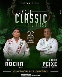 Luís Rocha enfrentará Paulinho Peixe no Jungle Classic Jiu-Jítsu