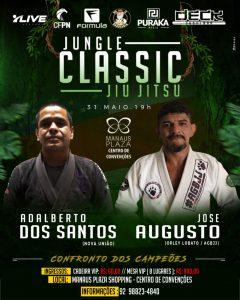 Em luta inédita, José Augusto 'Gato' e Adalberto dos Santos se enfrentam na terceira edição do Jungle Classic Jiu-Jítsu