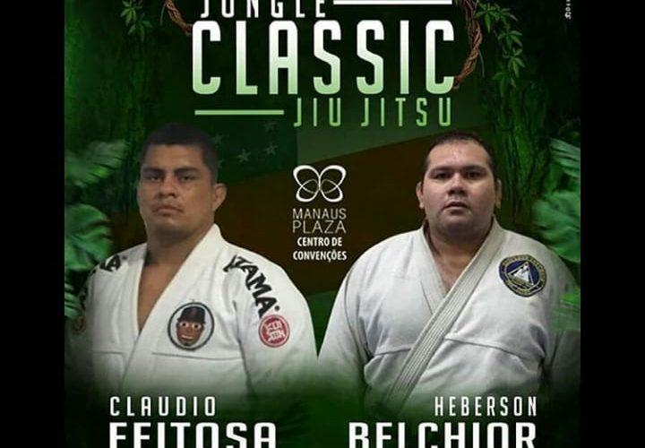 Campeão do Jungle Classic Jiu-Jítsu I, Cláudio Feitosa retorna à terceira edição para enfrentar Heberson Belchior