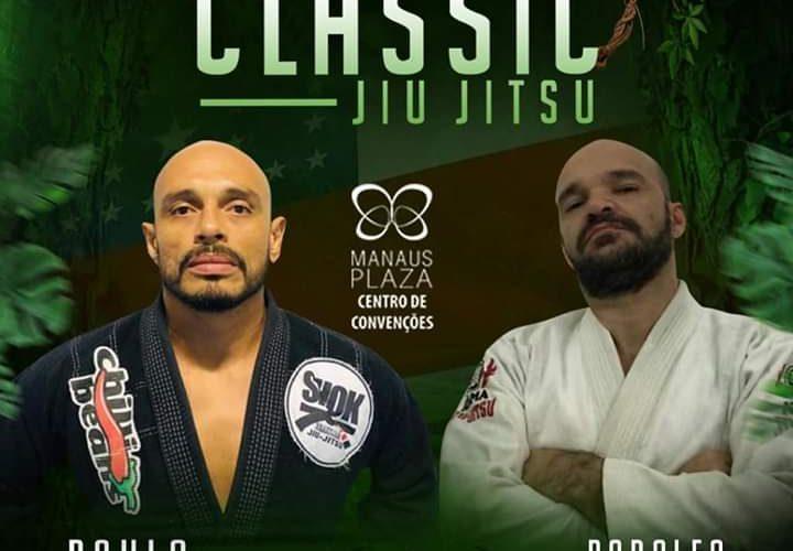Em grande duelo, Paulo Cristian e Rodolfo Sant'Anna prometem fortes emoções no Jungle Classic Jiu-Jítsu