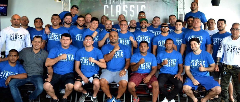 Com 16 combates, Jungle Classic Jiu-Jítsu será nesta sexta feira (31/05), no Centro de Convenções do Manaus Plaza Shopping