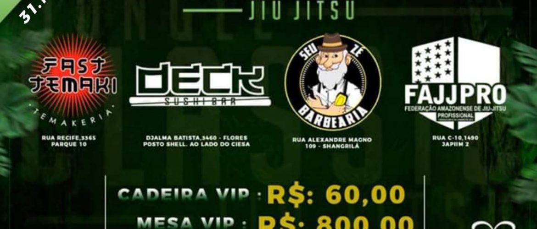 Ingressos para o Jungle Classic 3 continuam à venda em quatro pontos de Manaus