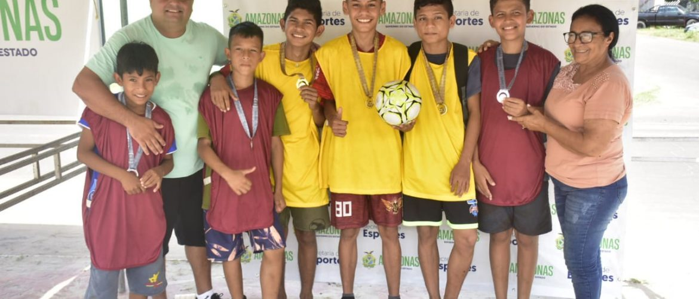 Sejel premia campeões de torneio realizado em Parintins