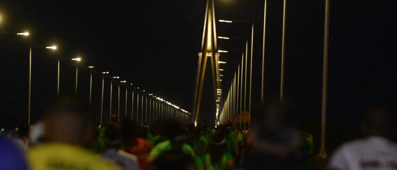 Maratona Sustentável reúne mais de 2 mil pessoas na Ponte Phelippe Daou