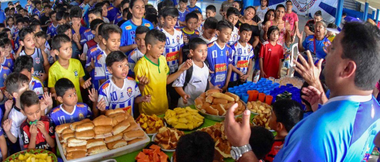 Copa Alvorada de Futsal reúne mais 300 pessoas na quadra do Unidos do Alvorada