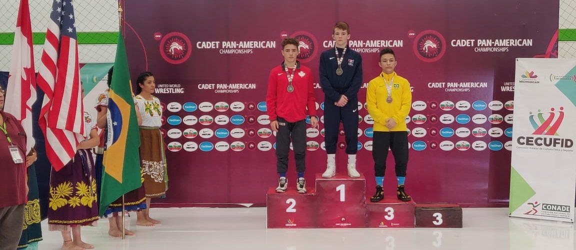 Pela segunda vez consecutiva, lutador amazonense é bronze no Pan-Americano de Wrestling