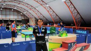 Paratleta amazonense de tênis de mesa na contagem regressiva para os Jogos Parapan-Americanos