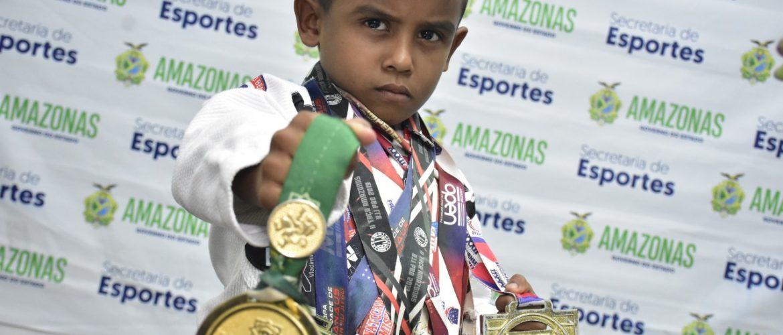 Atleta de Manacapuru vai representar o Amazonas no Sul-Americano de Jiu-Jítsu Criança