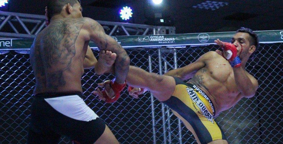 """Onze lutas, disputa de cinturão interino, GP... Rei da Selva 13 vai """"bombar"""" Manaus em julho"""