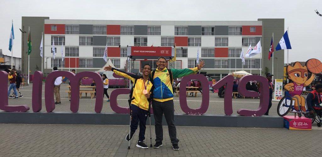 Atleta amazonense do Ctara conquista bronze nos Jogos Parapan-Americanos