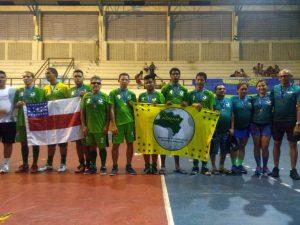Equipe amazonense de Futebol de Cinco conquista terceira posição na Taça Pará