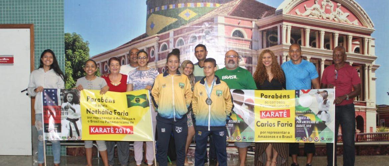 Karateca amazonense conquista título pan-americano da modalidade, no Equador