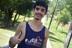 Atleta autista do Amazonas vence limitações e participa de corrida no Espírito Santo