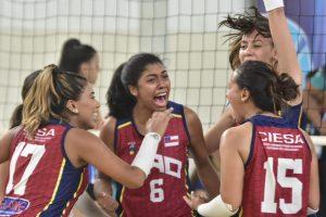 Vôlei feminino do Amazonas estreia com vitória no primeiro dia de competições dos JUBs