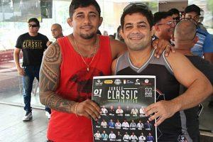 JungleClassic 4.0: José Simite busca vitória sobre seu algoz Roterdam de Abreu