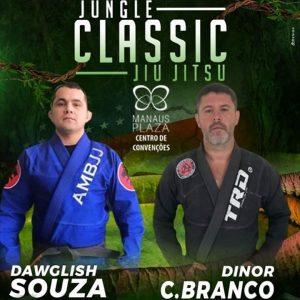 Campeão da segunda edição, Dawglish Souza retorna ao Jungle Classic 4.0 para enfrentar Dinor Castelo Branco