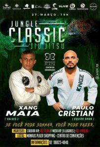 Bicampeão, Christian Shok retorna ao Jungle Classic 5.0 para enfrentar Xang Maia